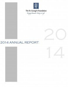 2014 Annual Report Cover Page